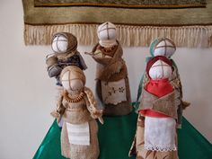"VINTAGE TERRACE ""2"" Coleen Franks' Blog Ukrainian folk dolls"