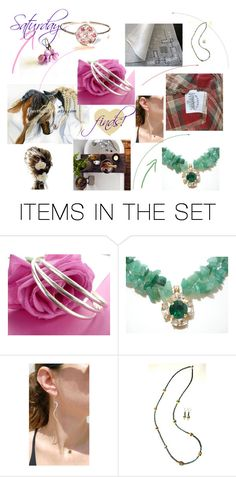 """""""Saturday finds."""" by stavrosdragatakis ❤ liked on Polyvore featuring art and dragtakisjewellery"""