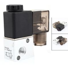 IMC Hot 3V1-06 DC 12V 2 Position 3 Way Pneumatic Solenoid Valve