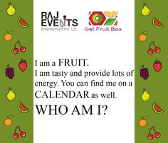 Here is the forth question of the Health Quiz, The Forth, Fruit Box, Healthy Fruits, Healthy Lifestyle, Healthy Living, Tasty, Entertaining, This Or That Questions