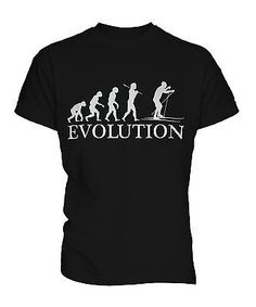 Cross #country #skiing #evolution of man mens t-shirt tee top gift, View more on the LINK: http://www.zeppy.io/product/gb/2/271608991933/