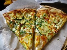 Mixed Summer Squash, Feta Cheese, Garlic Oil and P&P (Parsley & Parmesan)