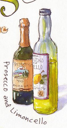 Everyday Artist: Sketchbook Journeys - Italy: Day 11 (Yummy Tuscan Food)