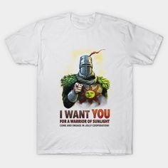 5df59aafa 2017 New Men Brand I Want You For A Warrior Of Sunlight T Shirt Gaming Dark  Souls Arteries Praise The Sun T Shirt Cool Tops Tees-in T-Shirts from Men s  ...