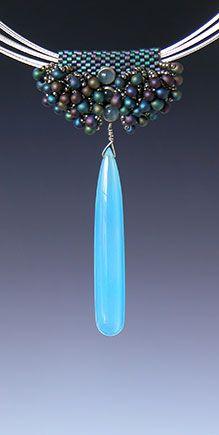 Beaded necklaces by Kay Bonitz