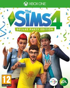 The Sims 4 Deluxe Party Edition (Xbox One): Amazon.co.uk: PC & Video Games