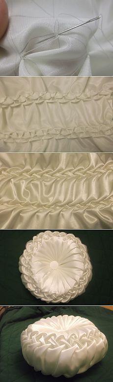 МК по пошиву подушки с буфами