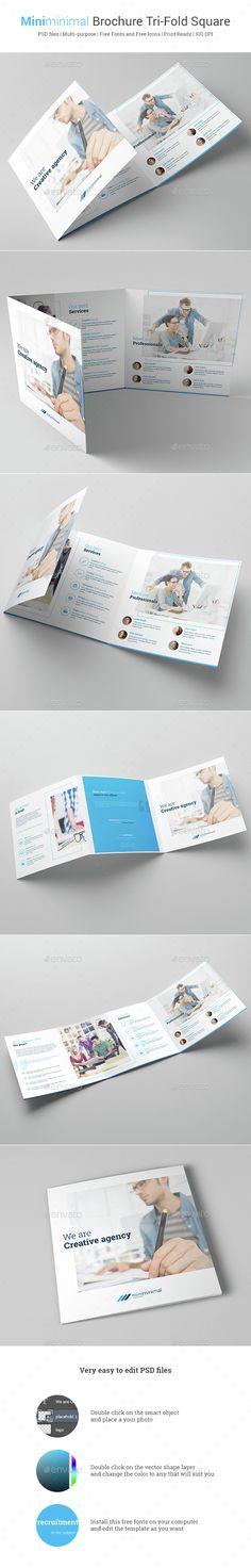 Spa \ Beauty Salon Tri fold Brochure Tri fold brochure, Tri fold - half fold brochure template