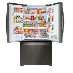 LG Electronics 30 cu. ft. 3 Door French Door Smart Refrigerator with InstaView Door-in-Door and WiFi Enabled in Black Stainless Steel-LFXS30796D - The Home Depot