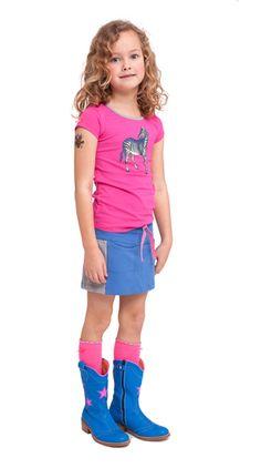 Br@nd zomer 2014 T-shirt met zelf te kiezen opdruk - Brand for Girls
