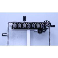 Slider bike chain clock