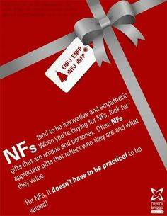The best kind of gifts - INFJ I wish I could find this for other personality types