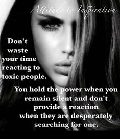Don't respond to toxic people 😛😱they waiting . Wisdom Quotes, True Quotes, Great Quotes, Quotes To Live By, Motivational Quotes, Inspirational Quotes, Mood Quotes, Positive Quotes, Quotes That Describe Me