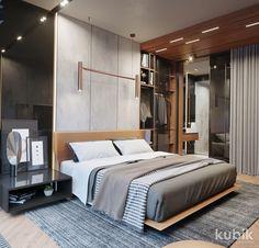 Décoration chambre adulte - textures, art et luminaires | chambre ...