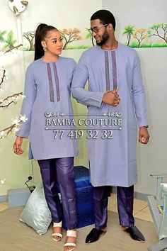 Popular Bday Gifts For Him - Outdoor Click Couples African Outfits, African Dresses Men, African Clothing For Men, Couple Outfits, African Attire, Dance Outfits, Nigerian Men Fashion, African Men Fashion, Costume Africain