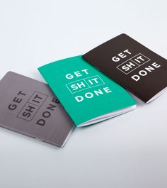 Get Shit Done - Grey/Green/Black