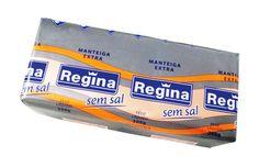 Manteiga sem sal Regina Perfeita para realçar o sabor em receitas culinárias (especialmente sobremesas) e para quem deseja controlar o consumo de sal (sódio) em sua dieta.