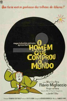 Cartaz de O Homem que Comprou o Mundo (1968)