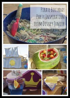 Jake and the Never Land Pirates Birthday Party Inspiration and Ideas