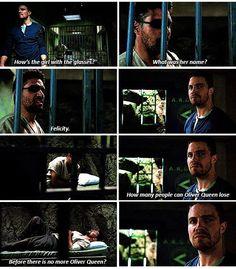 Arrow - Slade & Oliver #3.14 #Season3 <3