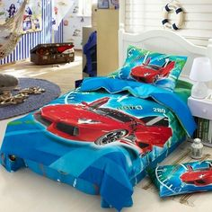 Race car bed sheets