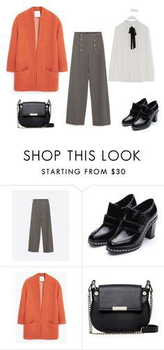 """look del dia"" by aliciagorostiza on Polyvore featuring moda, MANGO y French Connection"