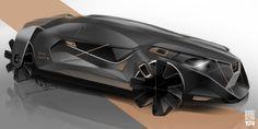 Album for sketches Vol Car Design Sketch, Car Sketch, Industrial Design Sketch, Luxury Homes Dream Houses, Futuristic Cars, Design Blog, Transportation Design, Future Car, Automotive Design