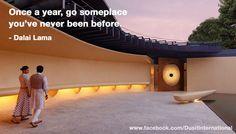 Where will you be heading next?  Photo from: Dusit Devarana New Delhi