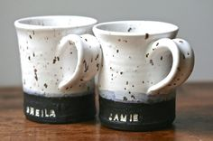 Hey, I found this really awesome Etsy listing at https://www.etsy.com/listing/235696411/custom-stamped-ceramic-mug-cup-8-oz
