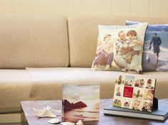 Photo blocks, pillows, and desktop plaques..oh my! Your favorite photos will fill these home decor items perfectly | Shutterfly.com