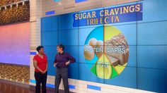 End Your Cravings, Pt 1: Dr. Oz has the craving killers to shut down your appetite for good. Whether you're a carb addict, a salt craver or a late night sugar eater he's got the specialized solutions to stoke your metabolism and keep your blood sugar stable.