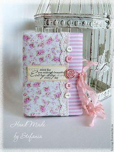 """Купить Блокнот """"Очарование"""" - розовый, блокнот ручной работы, блокнот для записей, блокнот с нуля"""
