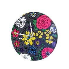 Unique Wall Clock Home and Living  Home Decor Retro by Shannybeebo, $47.00