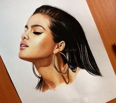WANT A FEATURE ? CLICK LINK IN MY PROFILE !!! Tag #LADYTEREZIE Repost from @ari_arts Finally finished Please comment your opinion and tag @selenagomez Hope you like it! #selenagomez #selena #fanart #arts_help #selenator #selenamariegomez #dailyart via http://instagram.com/ladyterezie