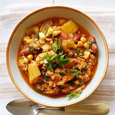 Spicy Vegetable and Barley Chili - FamilyCircle.com
