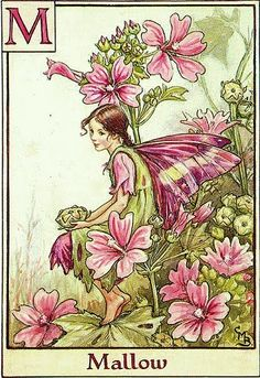 Cicely Mary Barker I have made this also into Papertole PIcture number of years ago, love Papertole work. HC