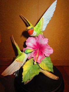 Kaiser Hummingbirds Figurine Wolfgang Gawantka Limited Edition