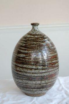 Peter Voulkos Bottle Vase Mid Century Studio Pottery
