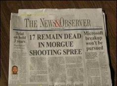 These Headlines Actually Made It To The Paper? Oh boy...