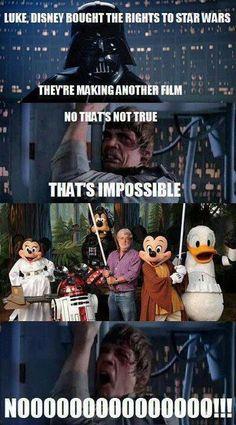 Disney, please don't mess up Star Wars.... PLEEEEASE!!!!!