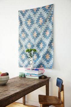 Textiles as Wall Decor | Rue