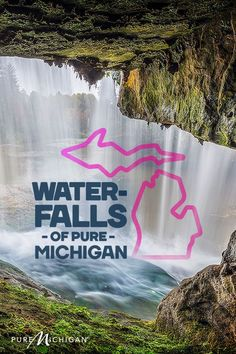 Discover 14 wonderful waterfalls in Michigan. Vacation Destinations, Vacation Trips, Dream Vacations, Vacation Spots, Day Trips, Vacation Ideas, Michigan Vacations, Michigan Travel, Lake Michigan