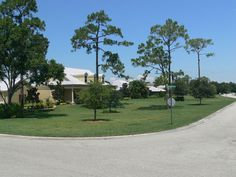 A street shot in Horse Creek in Fort Myers, Florida, developed by Daniel  Wayne Homes.