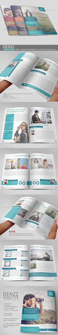 Business Newsletter Vol VII - Newsletters Print Templates