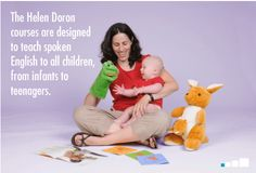 Yes, even babies can learn a second language (or more than one!) In fact, researchers agree - the younger your child is, the better! So what are you waiting for? Helen Doron Early English offers a heart-warming, music-filled course designed especially for infants 3 months and up!