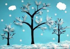 I miei lavori Winter Activities For Kids, Winter Crafts For Kids, Winter Kids, W. Winter Crafts For Toddlers, Easy Toddler Crafts, Winter Activities For Kids, Winter Kids, Christmas Crafts For Kids, Art Activities, Christmas Art, January Crafts, Winter Art Projects