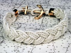 Anchor and Ropes Bracelet