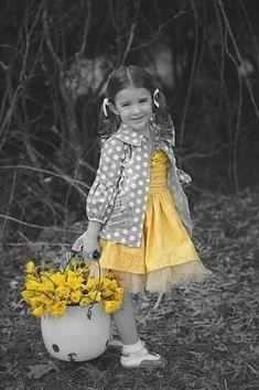 Yellow Splash of Color