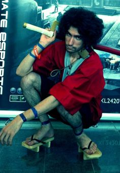 Fanta-San as Mugen from Samurai Champloo- This would have been hard to do.
