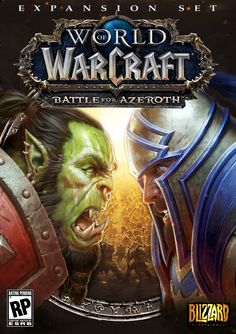 Battle For Azeroth Box Cover Mock Up Based On Warcraft 1 2 Covers Reup Worldofwarcraft Blizzard World Of Warcraft Game World Of Warcraft Warcraft Game